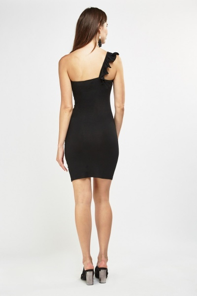 Embellished Ruched Sweetheart Bodycon Dress