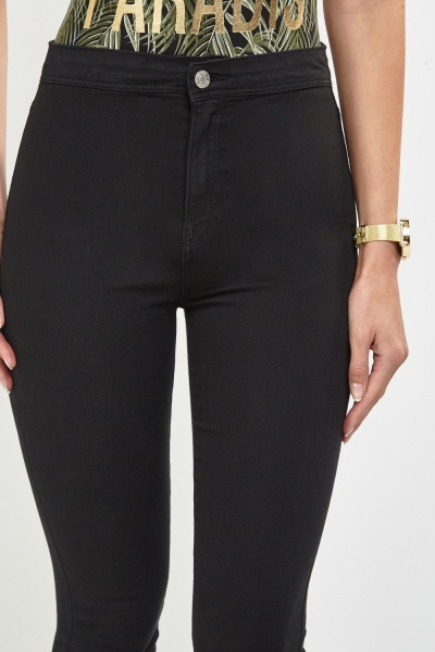 High Waist Skinny Denim Jeans