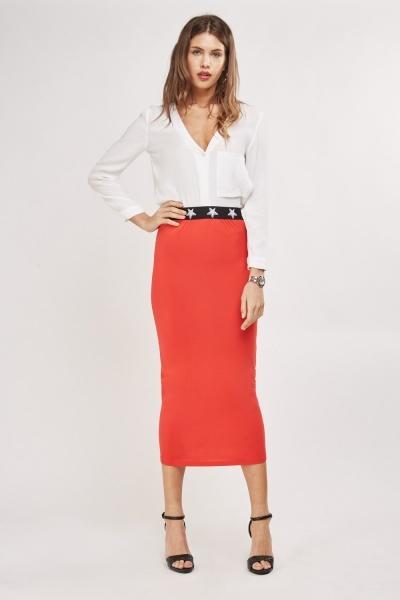 Basic Tube Maxi Skirt