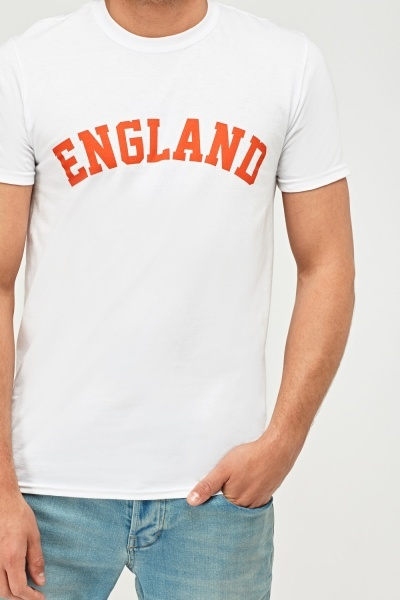 England Graphic Football T-Shirt