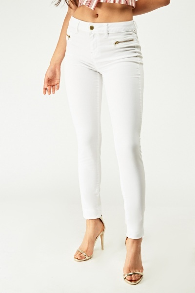 Low Waist Skinny Jeggings