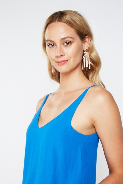 Sheer Chiffon Camisole Top