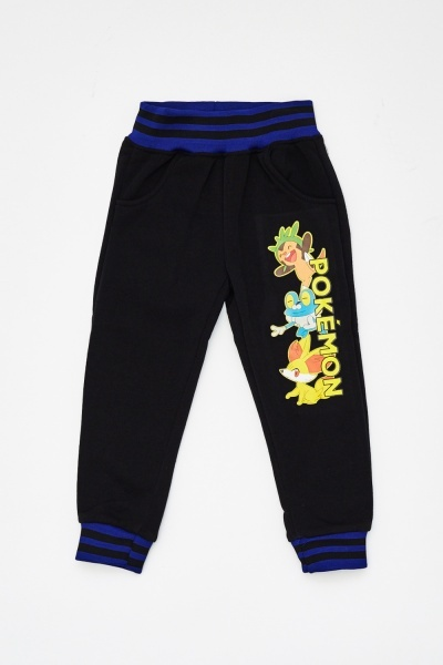 Pokemon Printed Ribbed Cuff Joggers