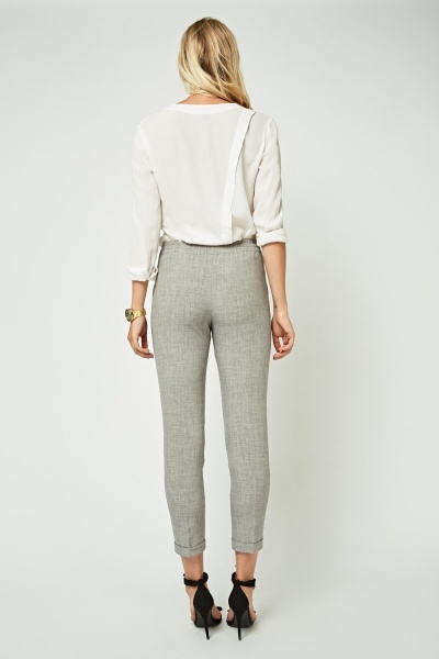 Classic Tailored Peg Trousers