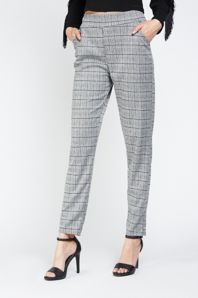 Low Waist Skinny Trousers