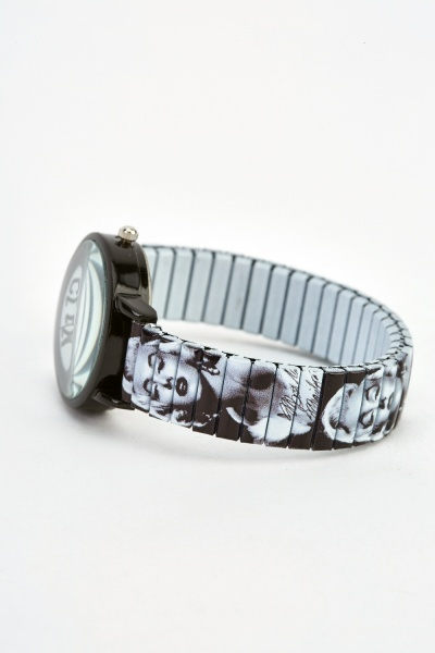 Marilyn Monroe Printed Watch