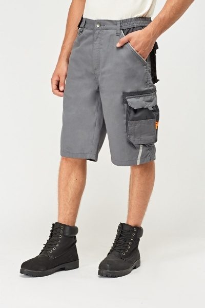 Multi Pocket Mens Shorts