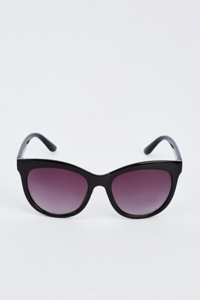 Cat Eye Black Sunglasses