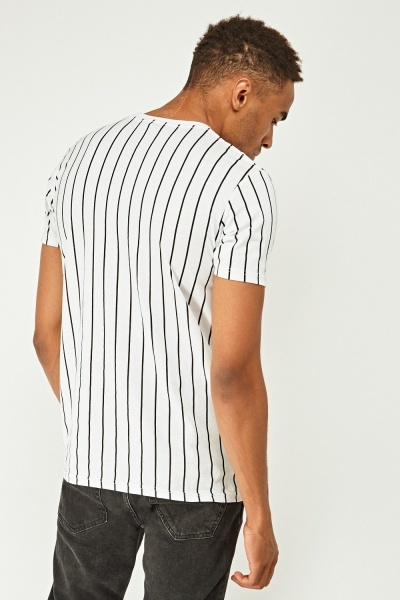 Pack Of 2 Mens Striped Tops