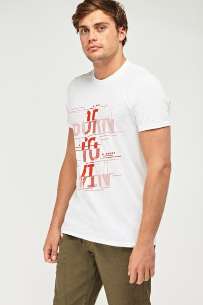 Graphic White T-Shirt