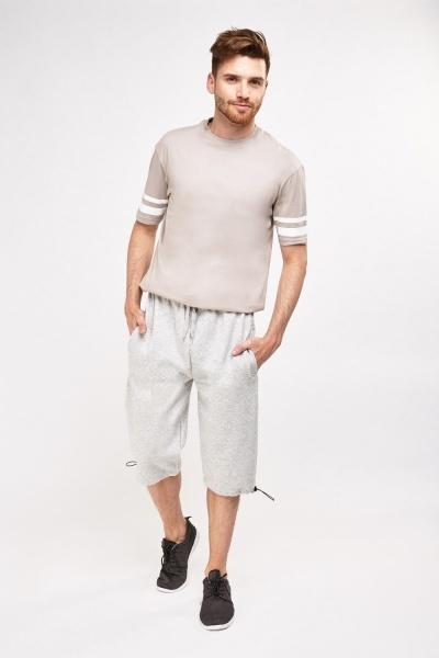 Mens Casual  3/4 Leg Shorts