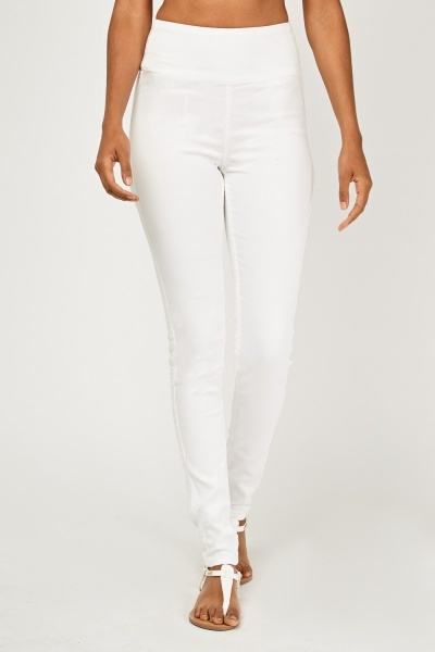 High Waist Skinny Fit Jeggings