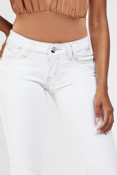 Low Waist Slim Fit Jeans