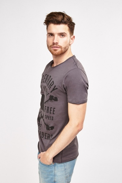 Graphic Print Mens T-Shirt