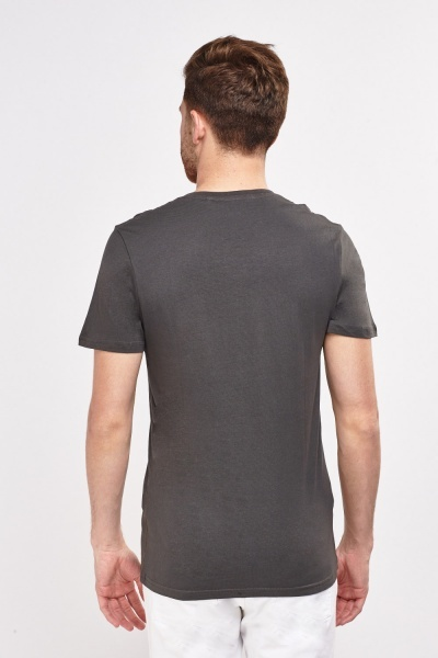 V-Neck Graphic T-Shirt