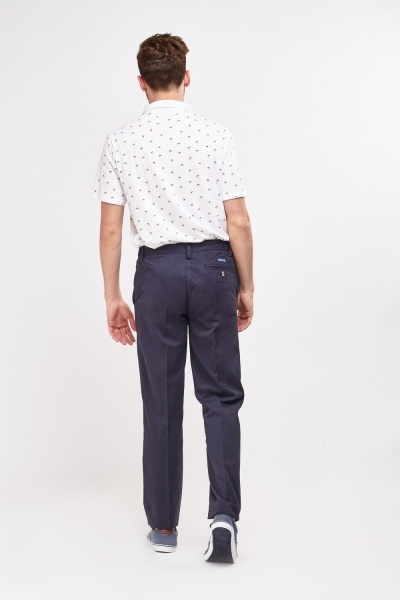 Straight Leg Casual Chino Mens Trousers