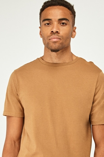 Long Line Fit Casual T-Shirt