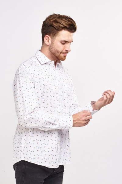 Multi Star Print Shirt
