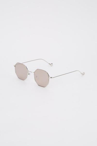 Classic Hexagon Frame Sunglasses