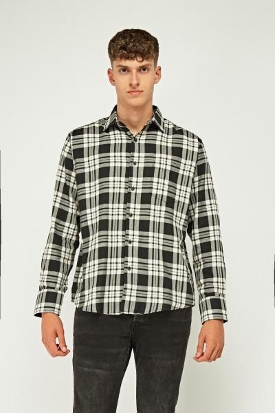 Mono Tartan Checked Shirt