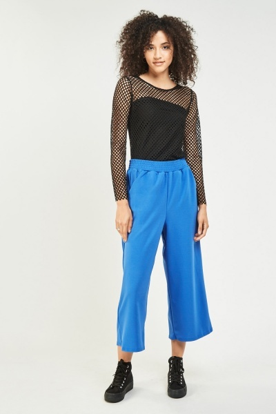 Basic Wide leg Crop Culottes