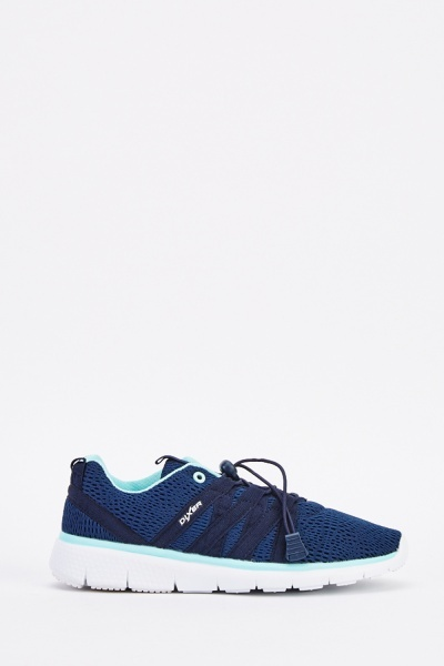 Contrasted Perforated Trainers
