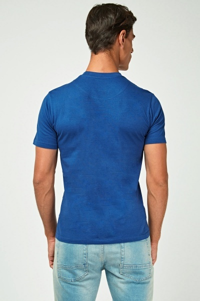 Graphic Blue Front T-Shirt