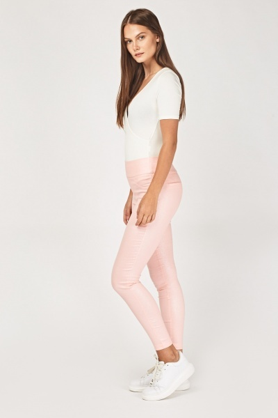 High Shine Skinny Fit Jeggings