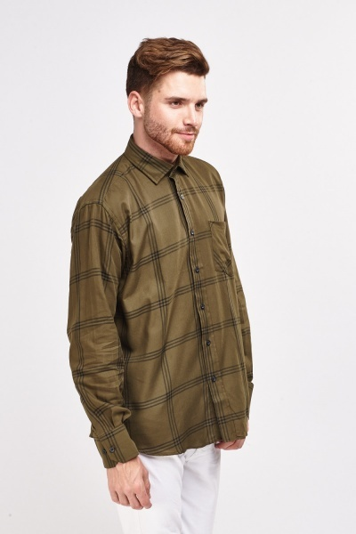 Window Pane Checked Shirt