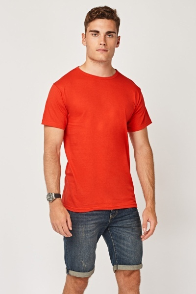 Pack Of 3 Crew Neck T-Shirts