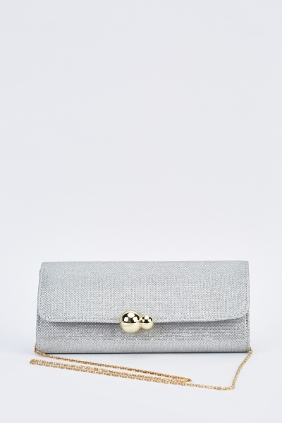 Lurex Mini Clutch Bag