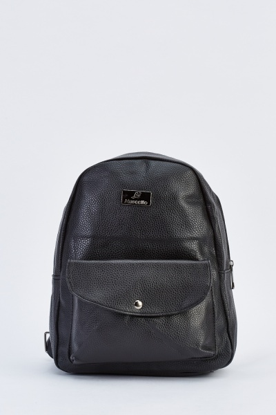 Small Textured Backpack