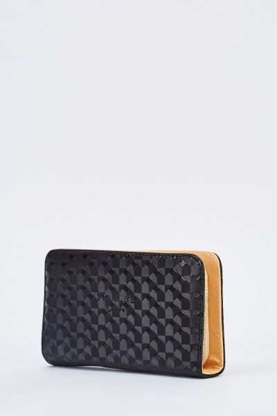 Two Tone Textured Purse