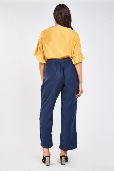 Navy Light Weight Trousers