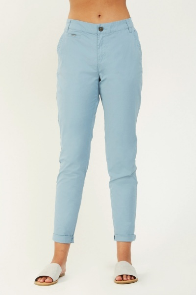 Low Waist Chino Trousers