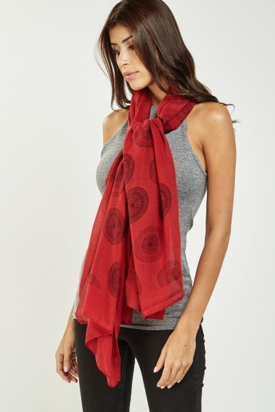Arabesque Printed Scarf