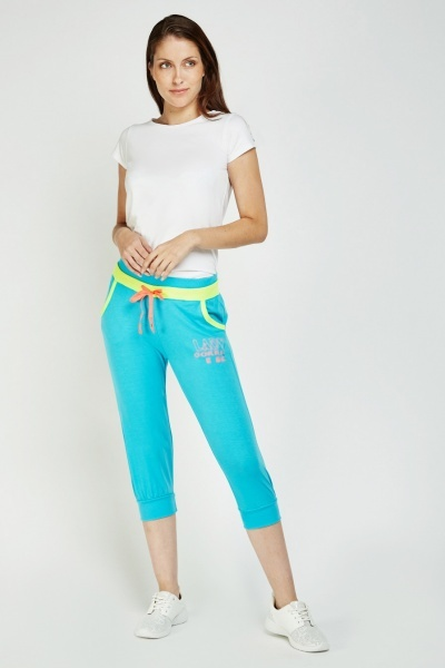 Casual Capri Jogger Pants