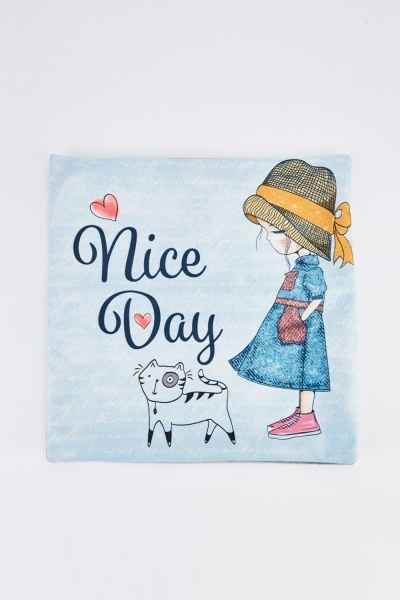 Nice Day Graphic Cushion
