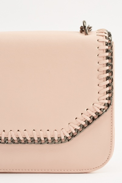 Chain Trim Mini Flap Bag