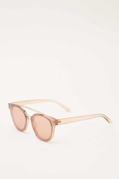 Panto Framed Sunglasses