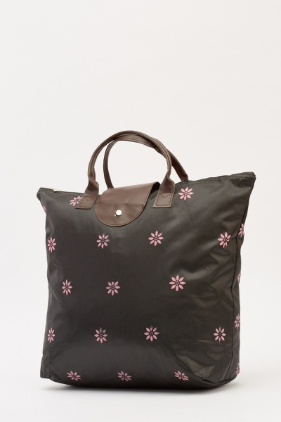 Foldable Printed Shopper Bag