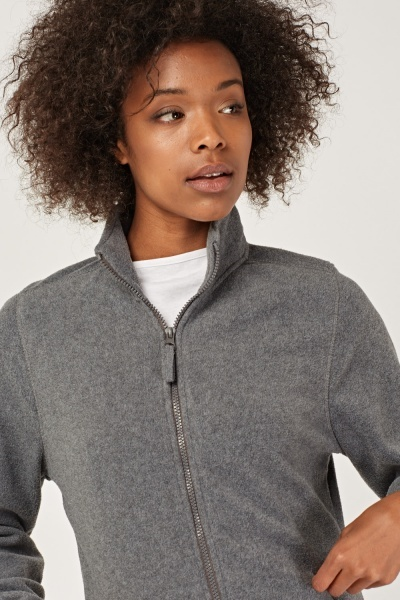 Zip Up Fleece Jacket