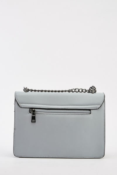 Detailed Chain Strap Shoulder Bag