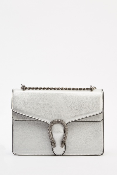 Detailed Front Shoulder Bag