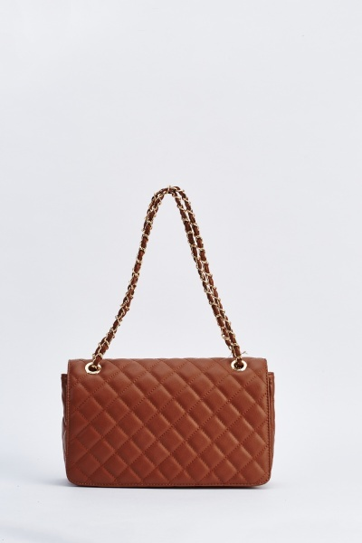 Large Cross Body Quilted Bag Just 6