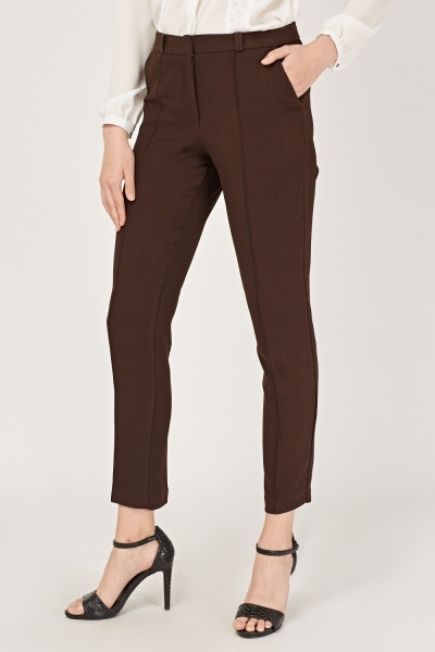 Skinny Fit Cigarette Trousers