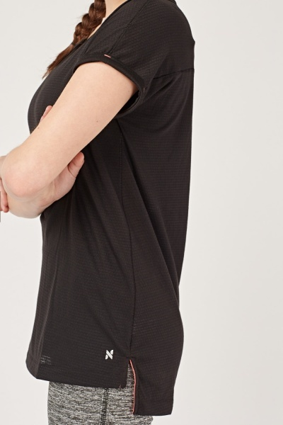 Thin Short Sleeve Sports Top
