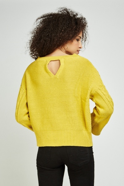 Basic Cable Knit Jumper