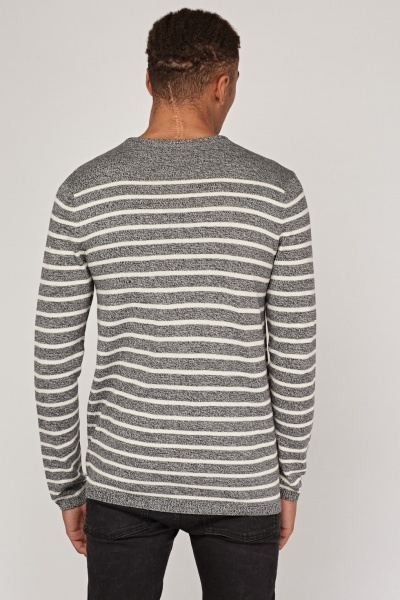 Striped Thin Knitted Sweater