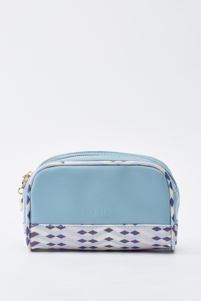 Cosmetic Faux Leather Bag